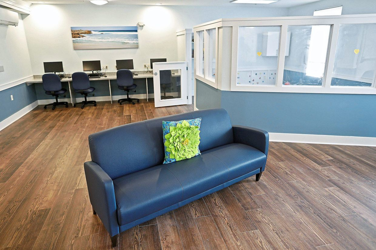 Huckleberry House is providing on-site services such as counseling and job training for residents at Marsh Brook Place.