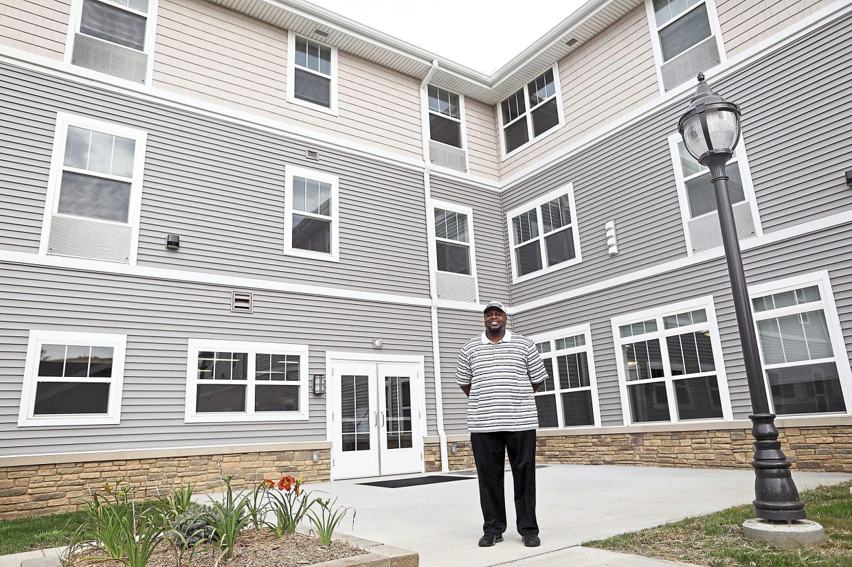 DeCarlo is the coordinator at the 40-unit Marsh Brook Place apartments.