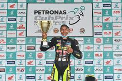 CP150 rider Helmi rules the track at Sepang