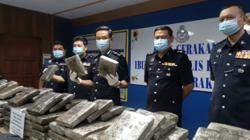 Bukit Aman seizes 210kg of marijuana, two arrested in Tapah rest area