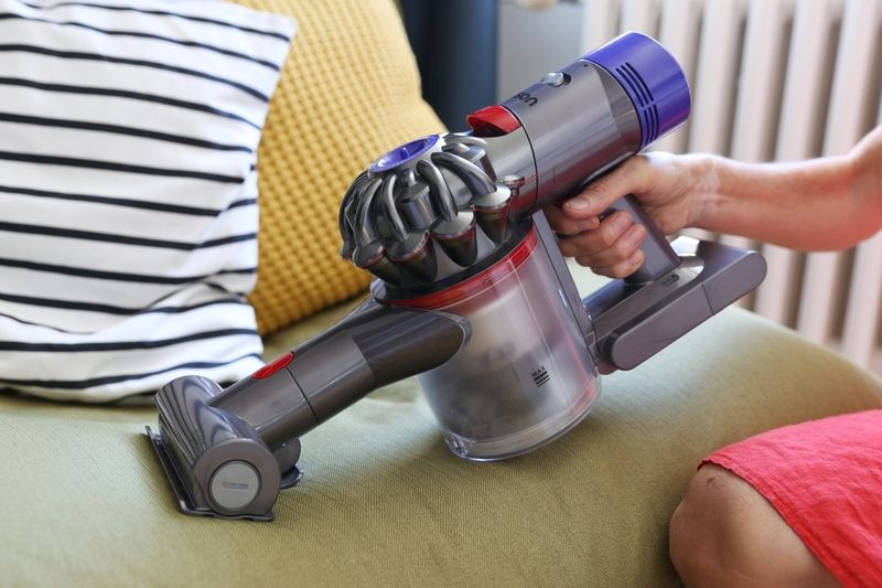 Some manufacturers offer models that can be turned into even smaller hand-held vacuum cleaners that can easily remove dust from couches and other surfaces. — Catherine Waibel/dpa