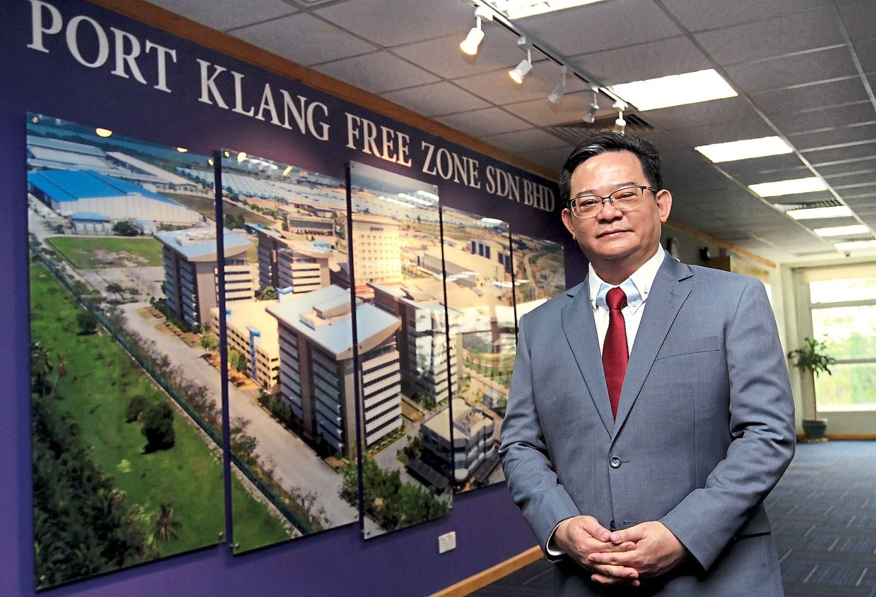 In good hands: Low is optimistic that the future of PKFZ is bright.