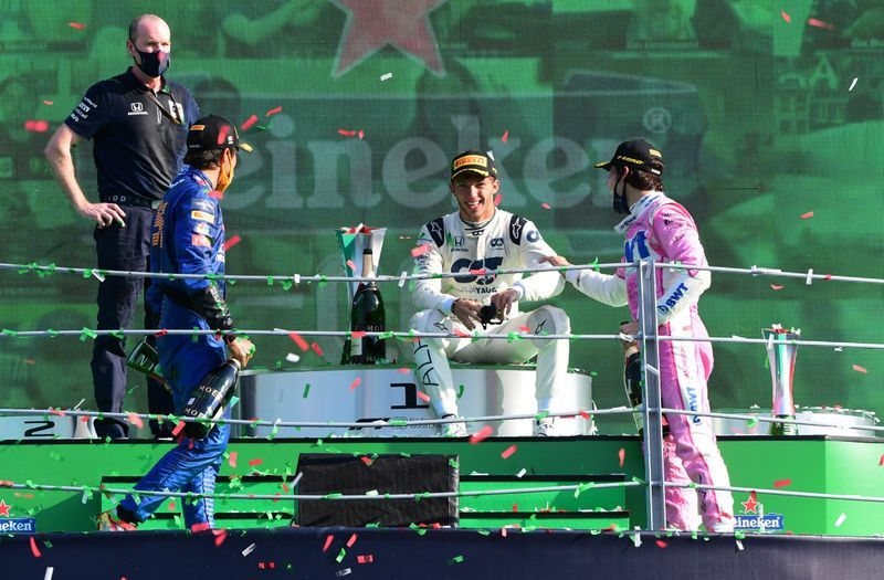 Motorsport Gasly Wins Astonishing Italian Grand Prix Thriller The Star