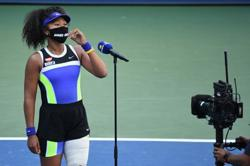 Factbox - The masks of Naomi Osaka at the U.S. Open