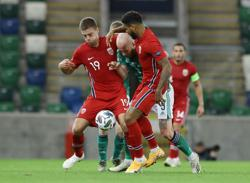 Norway ride Haaland double to thrash Northern Ireland 5-1