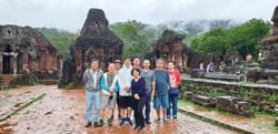 Malaysian discovers old world sanctuary in My Son, Vietnam
