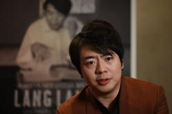 Chinese pianist Lang Lang says music the remedy for troubled times