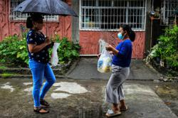 Filipinos bartering for their survival