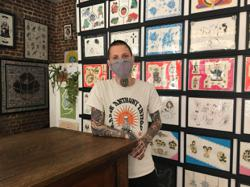 Belgian tattoo artist specialises in inking palates