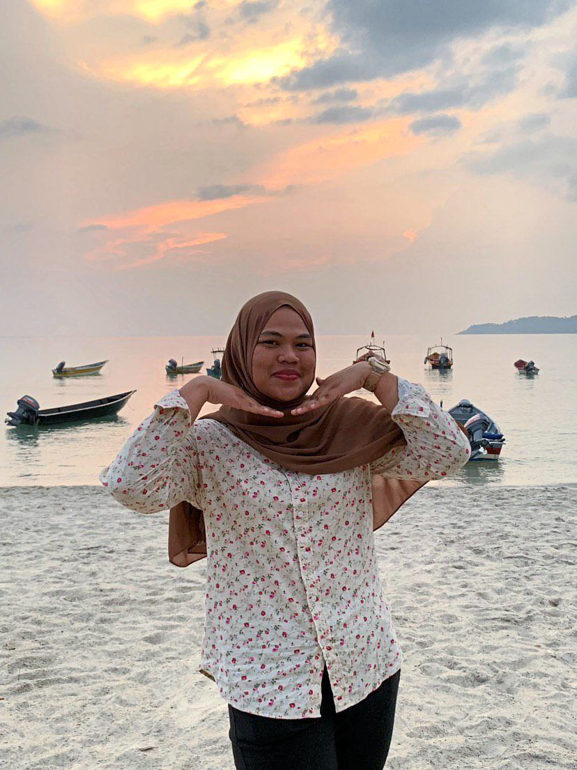 Nur Amalina is a fan of Pulau Perhentian. Photo: Nur Amalina