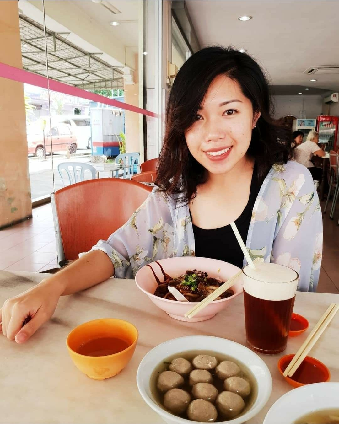Bernie Yong would bring visitors for a heart meal in Seremban. Photo: Bernie Yong