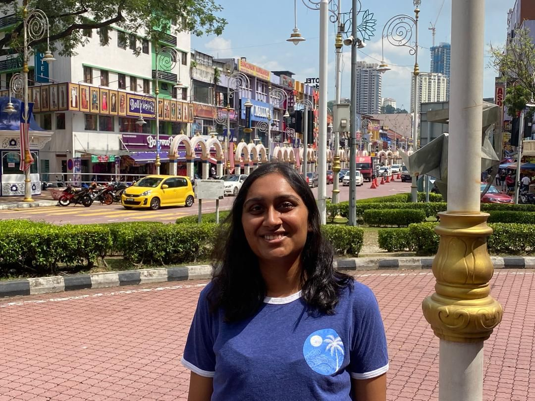 Veenitha says Little India in Brickfields is a must-visit. Photo: Veenitha Balachandran