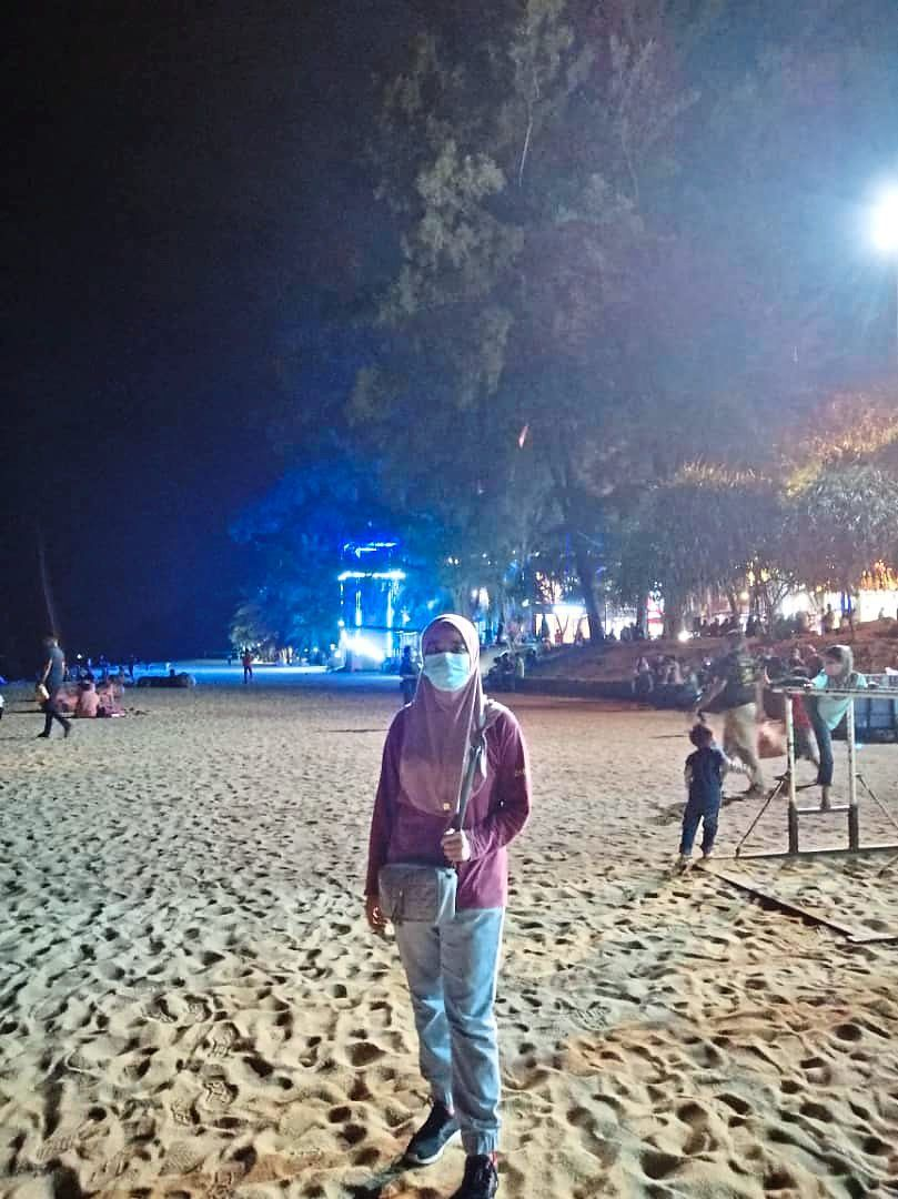 Khaleeda says Teluk Cempedak is a great holiday spot. Photo: Khaleeda Nora