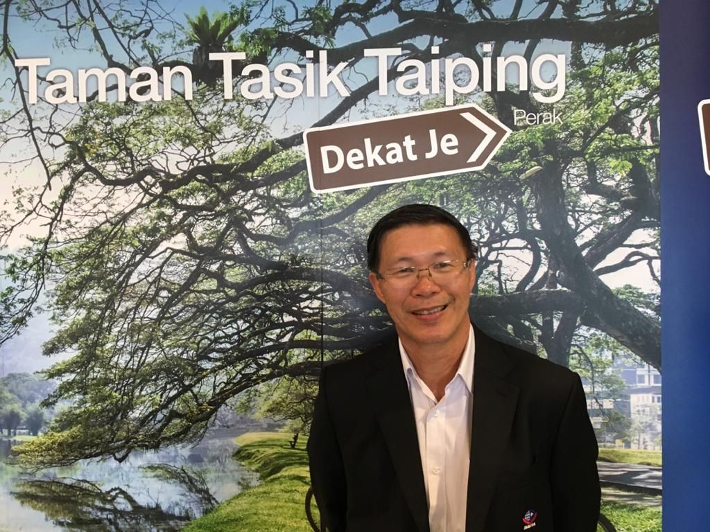 Datuk Tan says Taiping is an ideal destination for overland tours. Photo: Datuk Tan Kok Liang
