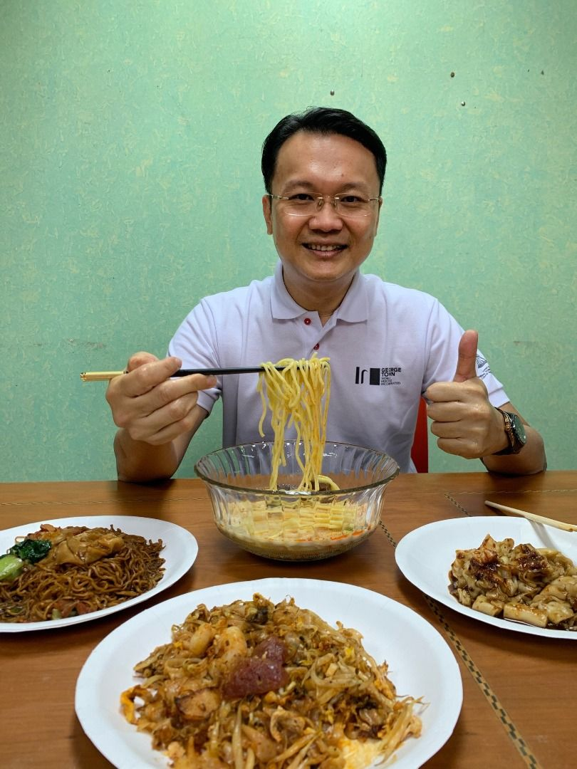 Yeoh says visitors to Penang should try the hawker food. Photo: Yeoh Soon Hin