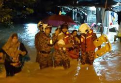 Flash floods hit several areas in south Seberang Prai