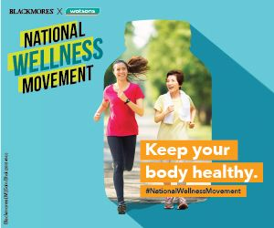 Keep your body moving every day by exercising for at least 30 minutes.