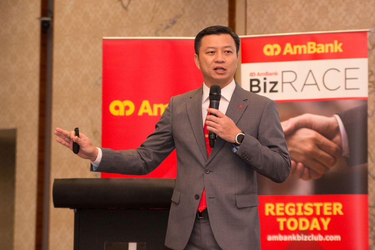 """""""To date, we have approved RM1bil in funding for more than 1,500 SMEs,"""" said AmBank's Business Banking managing director Christopher Yap."""