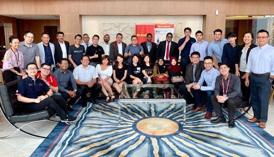 AmBank BizRACE 2019 top 30 participants.