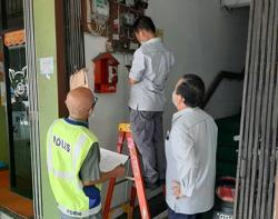 Power supply to 203 illegal gambling premises cut off