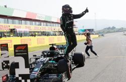 Hamilton beats Bottas to first Tuscan GP pole