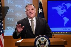 Pompeo says U.S. 'deeply concerned' over Turkey actions in east Mediterranean