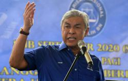 CM will be named once Barisan wins, says Ahmad Zahid
