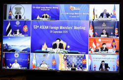 Asean calls for restraint in South China Sea