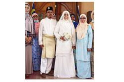 Jasin Wanita Umno chief marries man more than 30 years younger