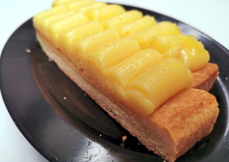 Lemon Tart for dessert.