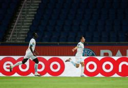 Five sent off as Marseille grab rare win at PSG