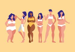 Should women dress according to their body size or shape?