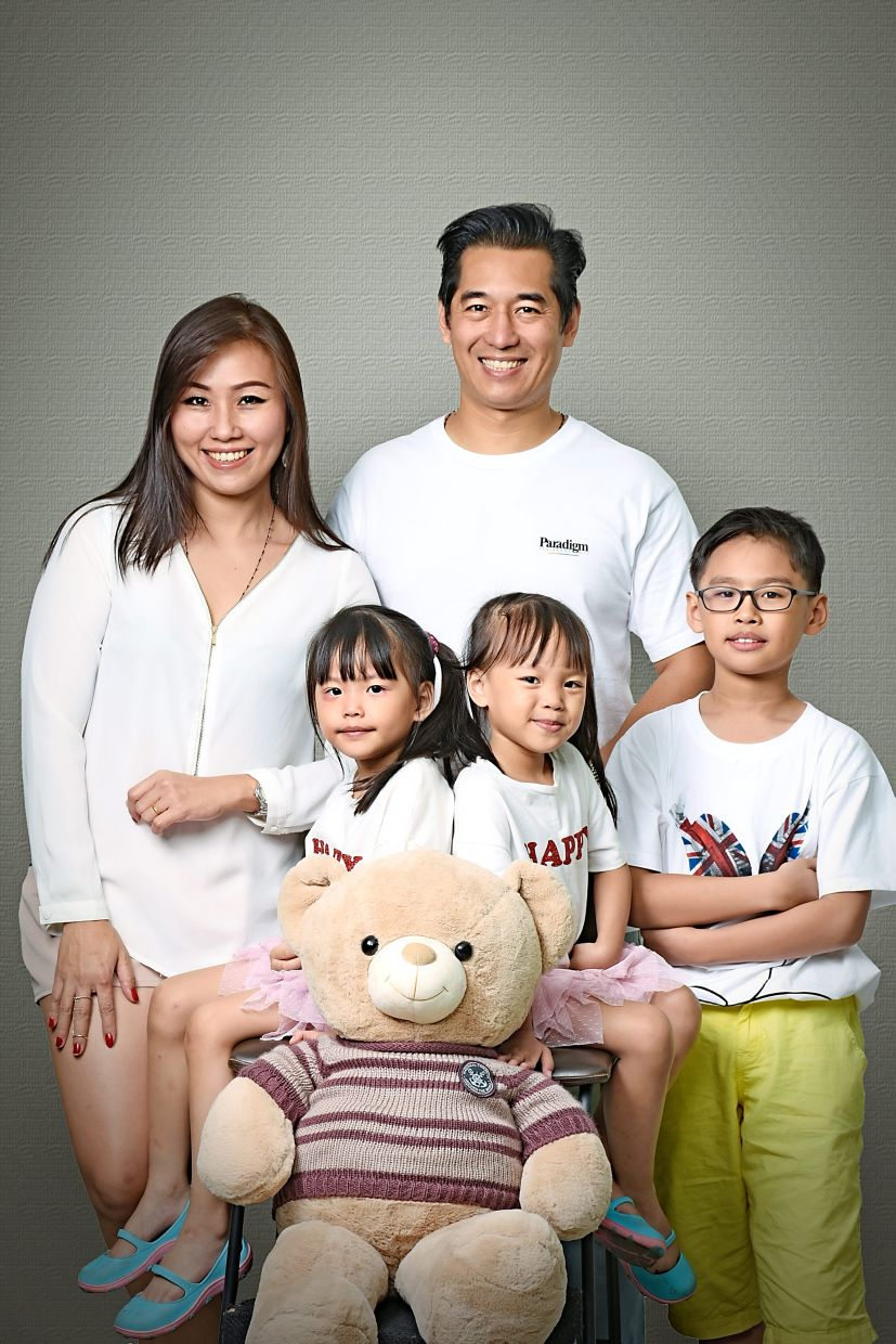 Massang is married to Jakarta-born Chinese Joyo, and they have three children. Photo: Paul Massang