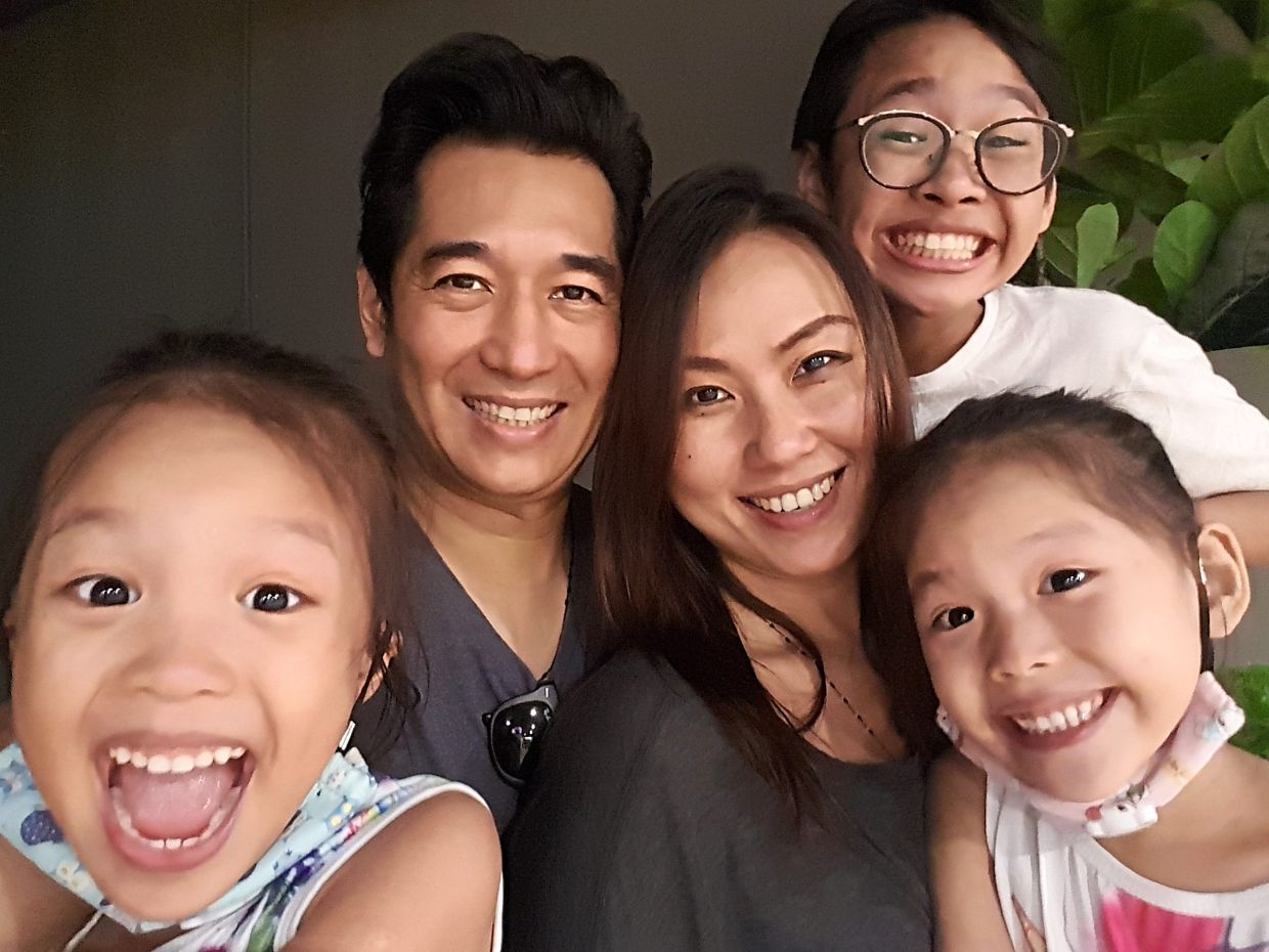 Massang and Joyo's children have now grown to accept their multiculturalism and see it as 'normal' rather than 'different'. Photo: Paul Massang