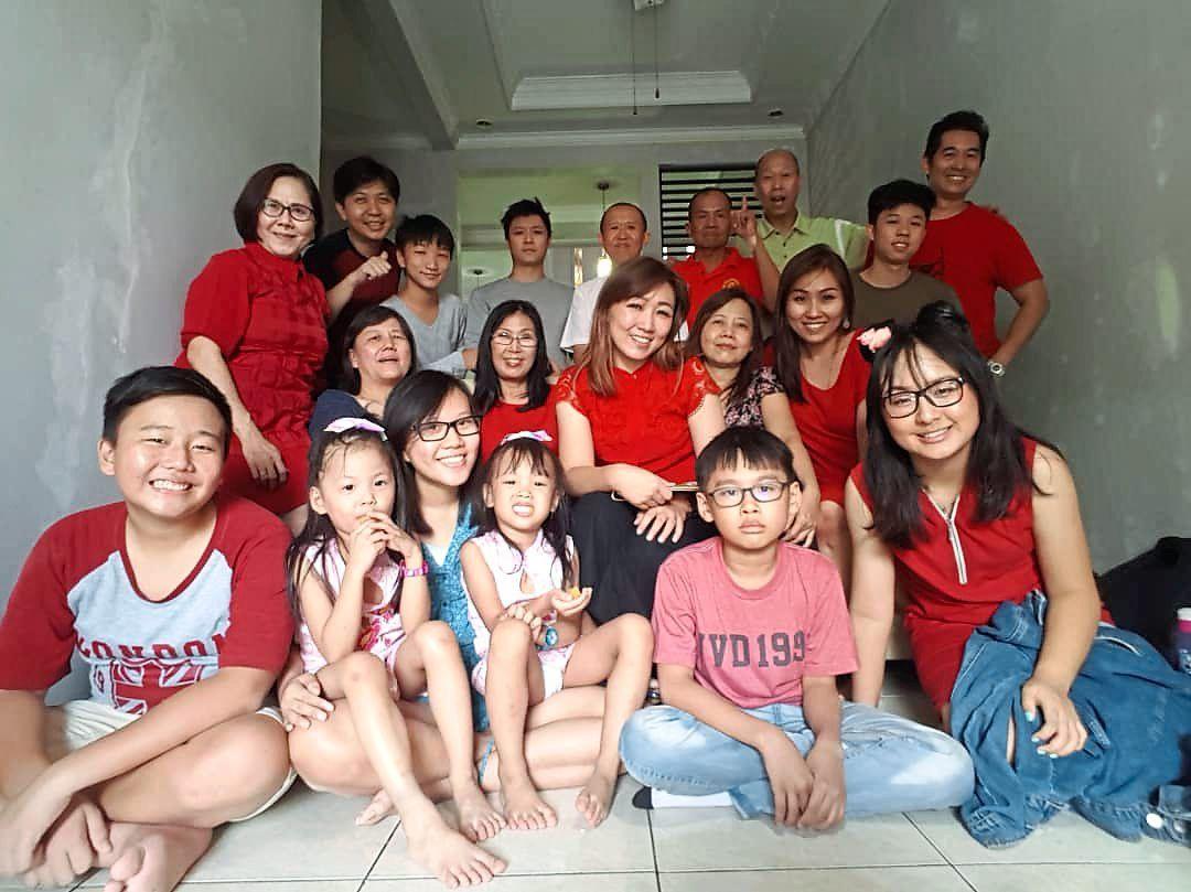 Chinese New Year 2019 with Joyo's family. Photo: Paul Massang