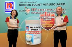 Paint on wall-to-wall protection