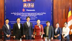 Cambodia and Panasonic set to develop e-learning studios for students