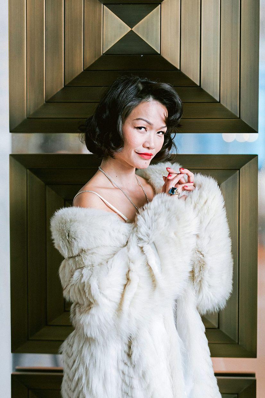Singer Janet Lee.