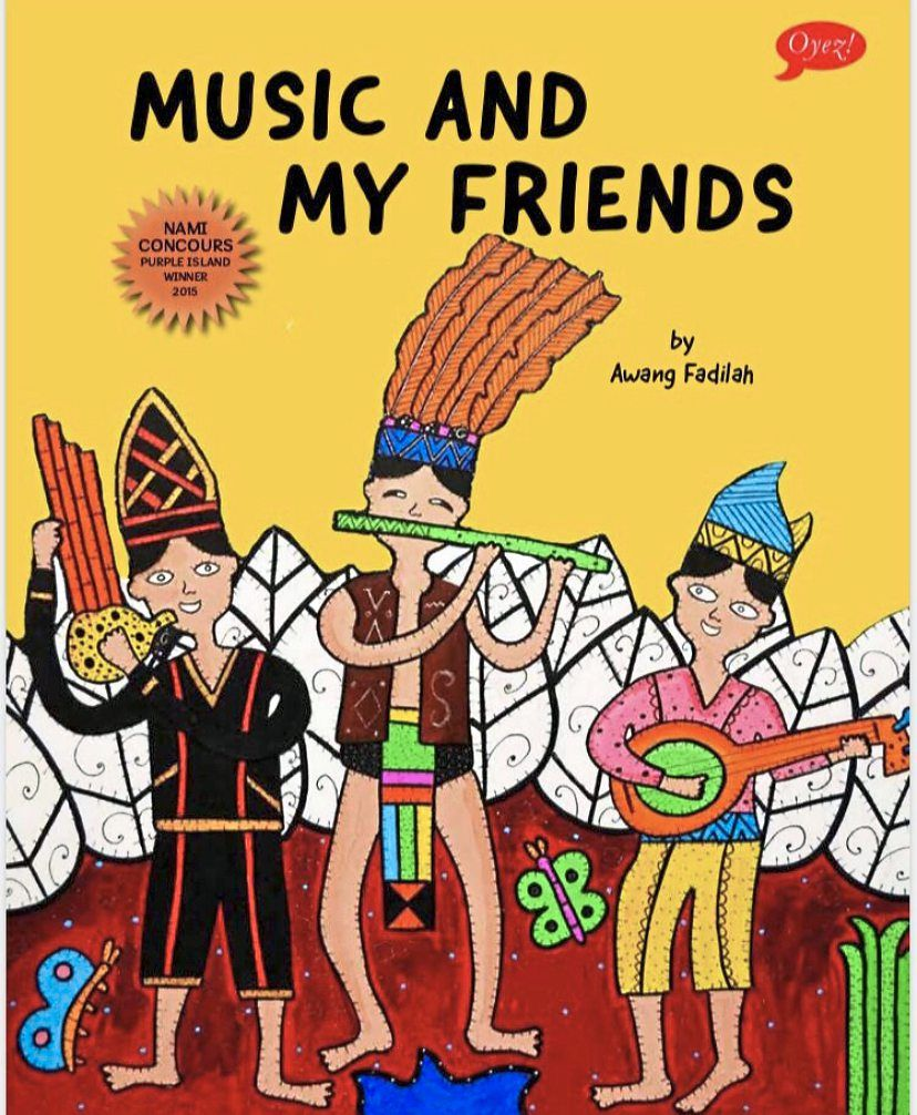 Awang's latest children's book focuses on Sabahan musical instruments. Photo: Handout