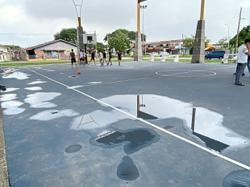 New basketball court falls far short of the mark