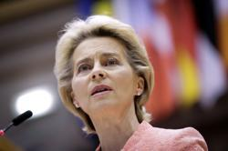 EU to build biomedical agency, convene health summit, says Von der Leyen