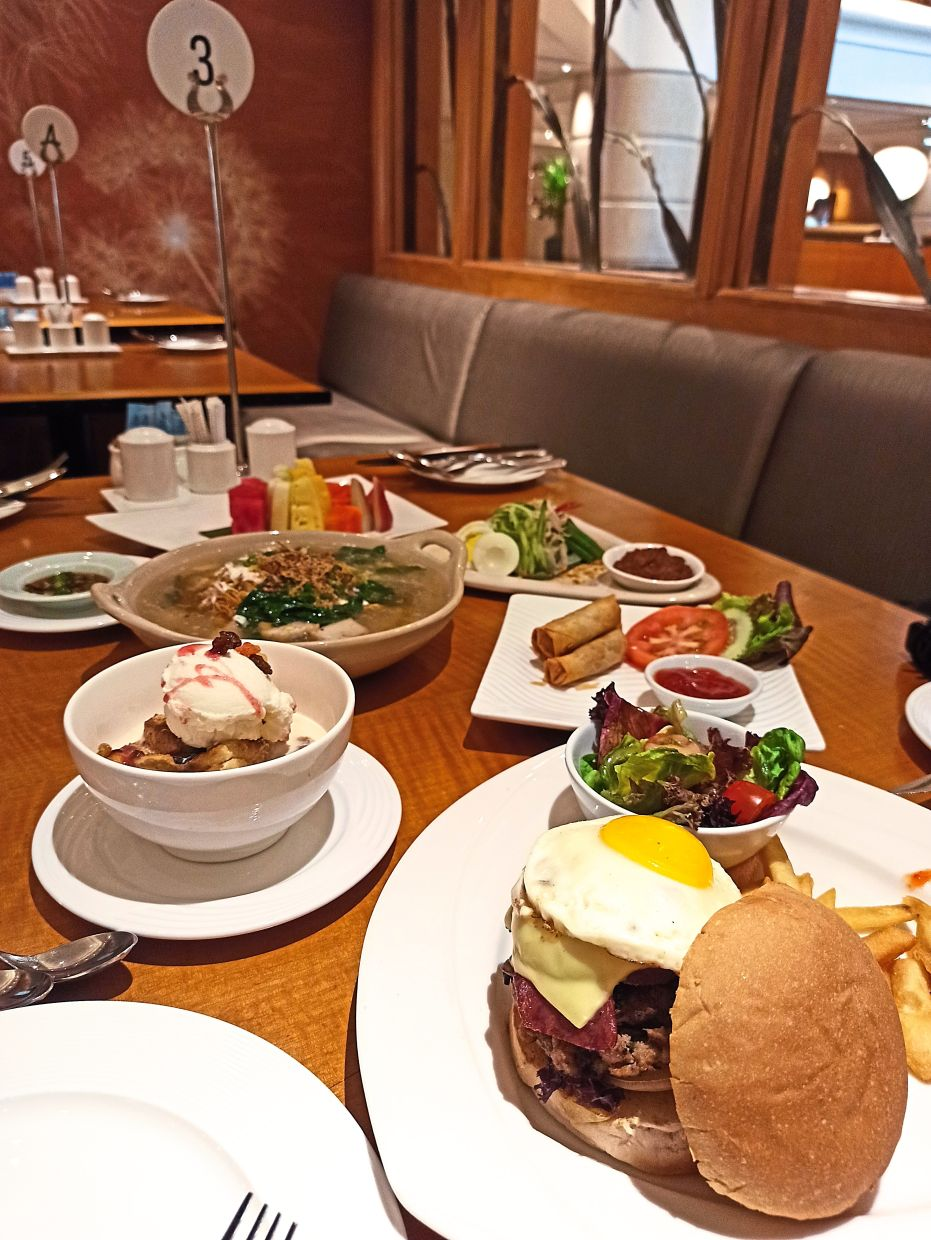 There's a good selection of food to choose from. THE STAR/ Chester Chin