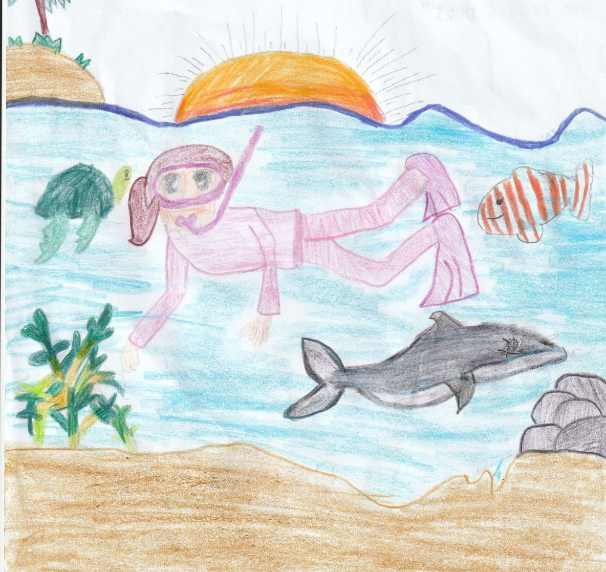 Starchild: Beautiful marine life drawn by Malaysian children
