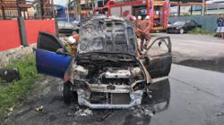 Melaka firemen stumble upon gruesome discovery after dousing vehicle fire