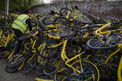 Whatever happened to China's giant piles of abandoned bicycles?