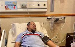 Khairuddin warded at hospital for minor procedure