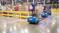 Robots driving forklifts score venture capital, create jobs