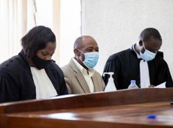 'Hotel Rwanda' hero denied bail during terror trial
