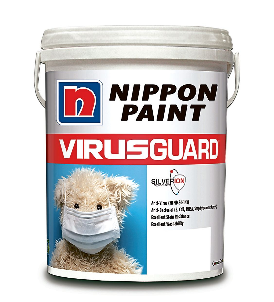 NPV uses silver ion technology that destroys viruses and bacteria.