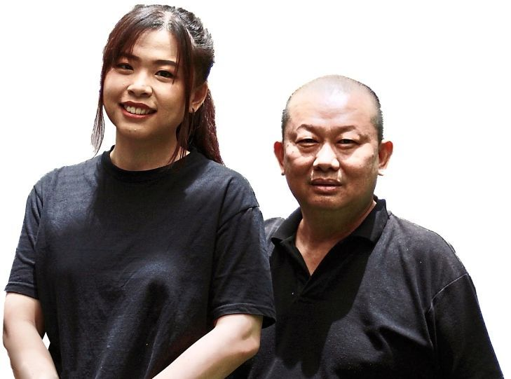Butcher and restaurateur Ho is back in Kuala Lumpur's dining scene and is helped by his family, including his daughter Tiffany.